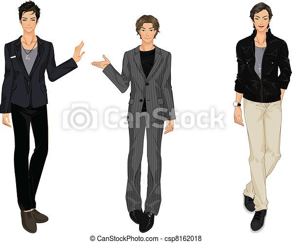 three vector men - csp8162018