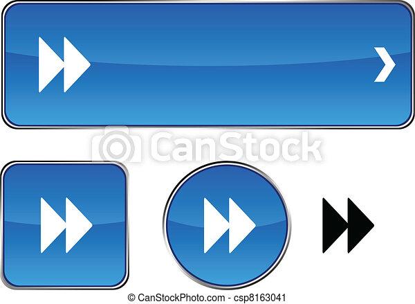 Forward Button Image Forward Button Set