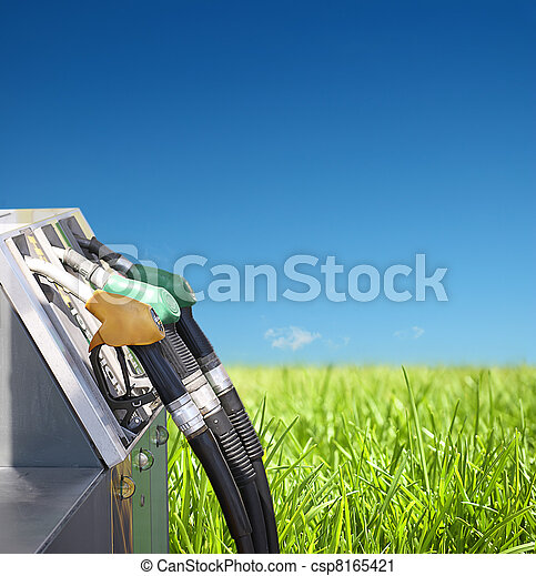 concept of petrol and clean environment  - csp8165421