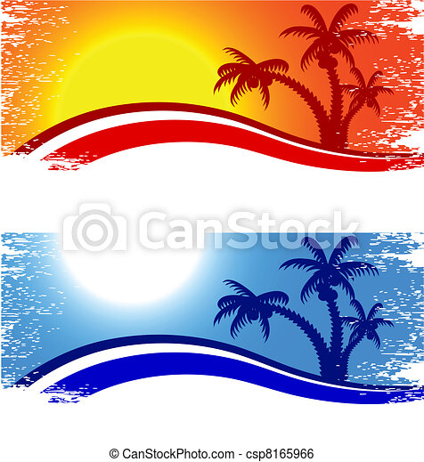 Summer background. - csp8165966