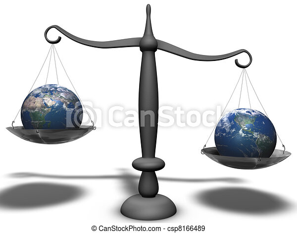 economical weight between two continents - csp8166489
