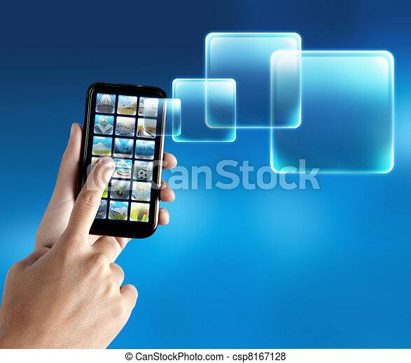 Mobile phone application - csp8167128