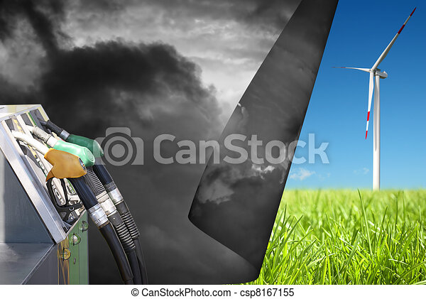 Change to clean energy  - csp8167155