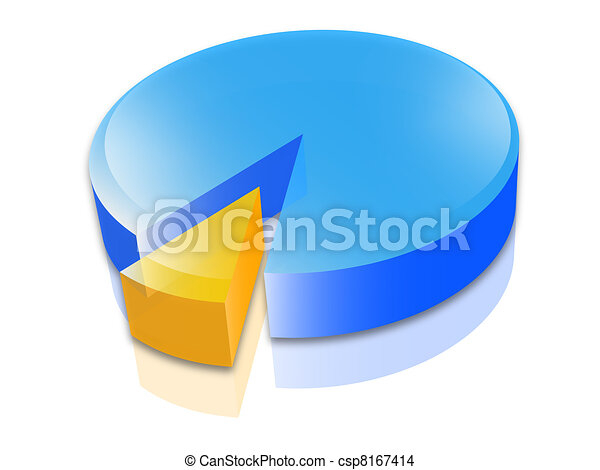 economy cake statistic - csp8167414