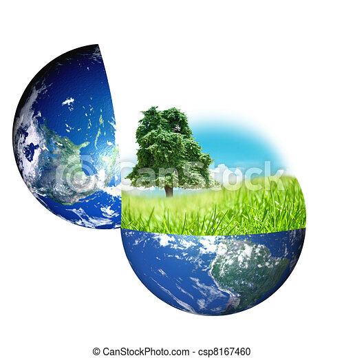 World and nature concept  - csp8167460