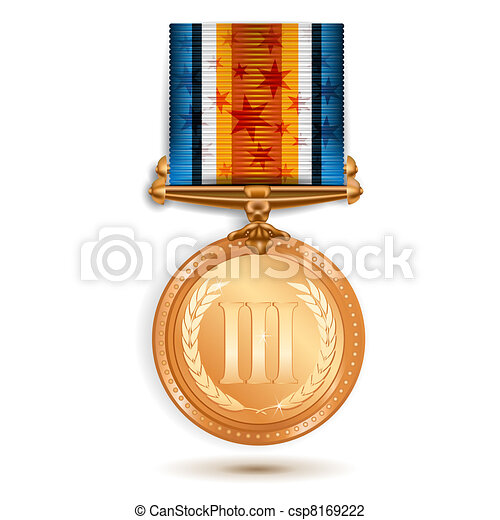 Bronze medal - csp8169222