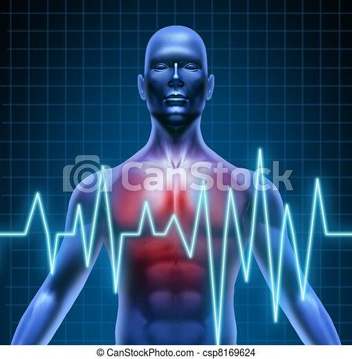 Heart disease - csp8169624