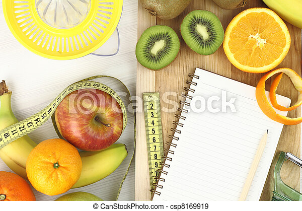 Fruits and diet - csp8169919