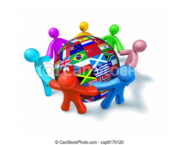 stock illustration of international network of world world globe clipart love world globe clipart images to color