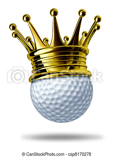 Stock Illustration Of Golf Tournament Champion Symbol