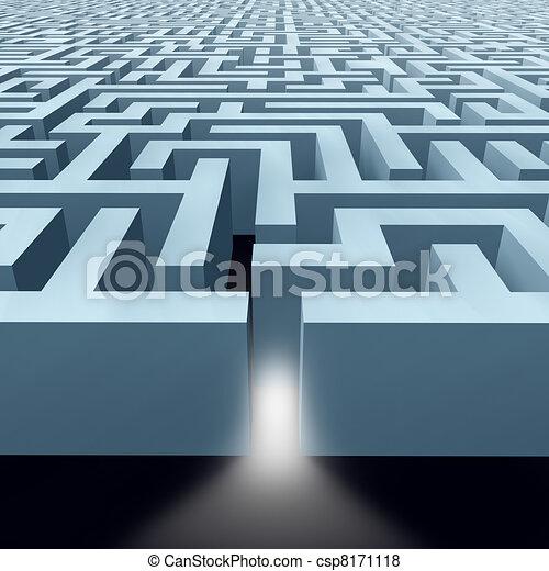 Endless Labyrinth maze - csp8171118