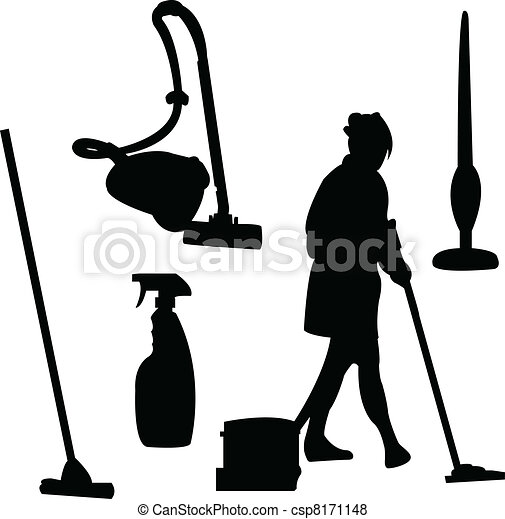 cleaner silhouette - csp8171148
