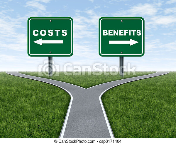 Costs and benefits - csp8171404