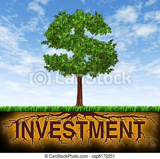 investimento, financeiro, crescimento - csp8172251