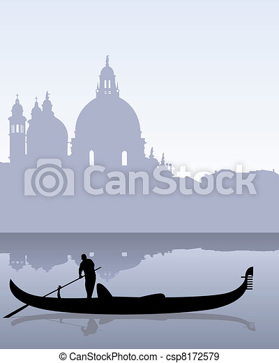 Venetian landscape - csp8172579
