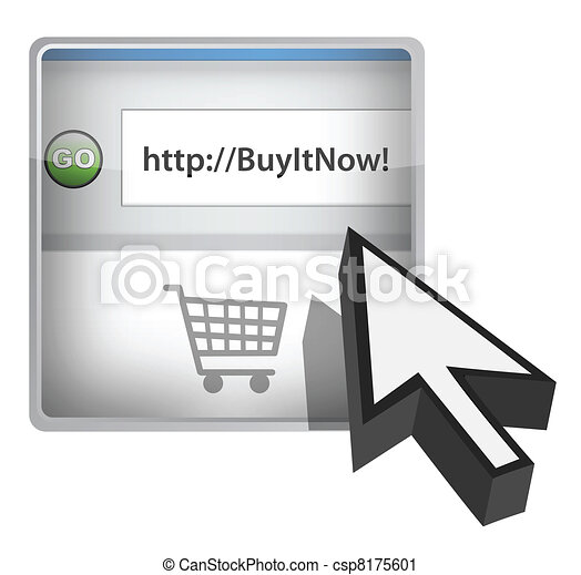 Buy it now browser button - csp8175601