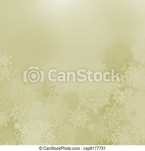 Glittery elegant Christmas background. EPS 8 - csp8177731