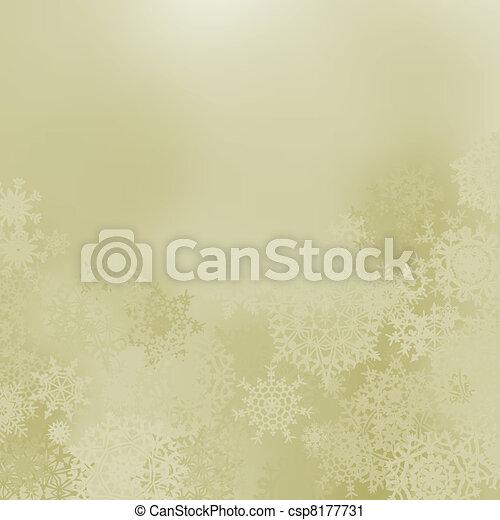 Glittery elegant Christmas background. EPS 8 - csp8177731