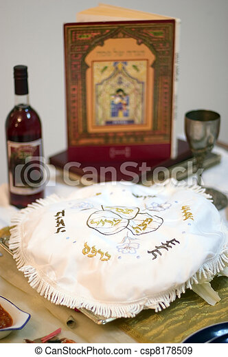 Passover Dinner Celebrations - csp8178509