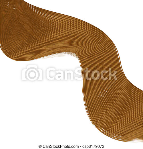 Hair background for your design. Vector illustration. Best choice - csp8179072