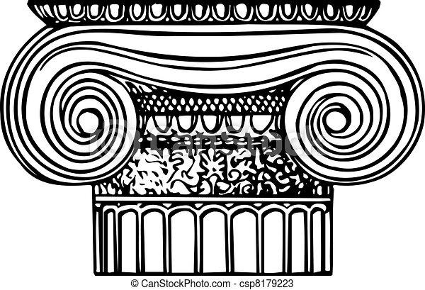 Ionic column - csp8179223