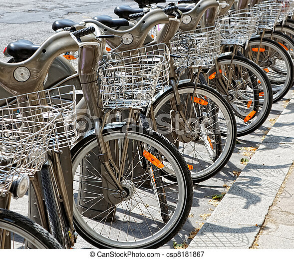 Bicycles - csp8181867