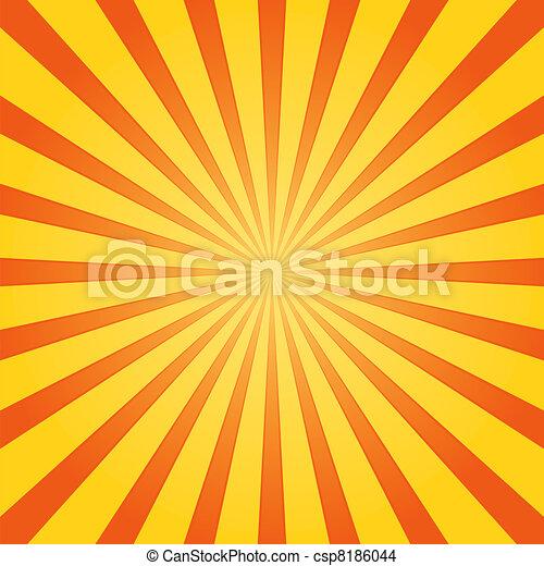 Orange and Yellow Shine - csp8186044