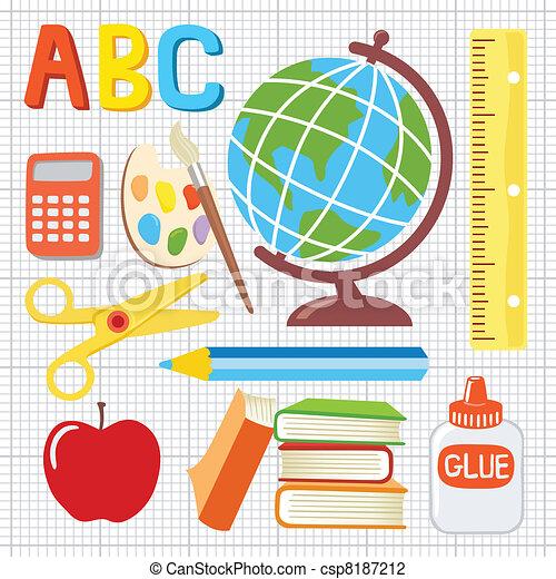 Fun School Drawing Fun And Playful School Icons