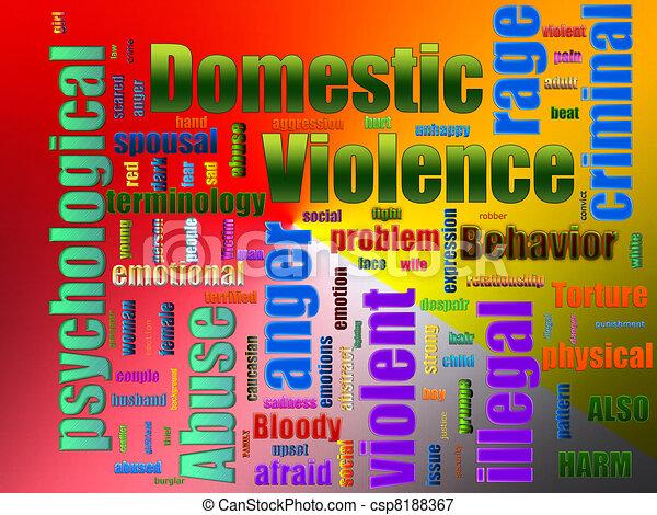 Domestic Violence Abuse - csp8188367