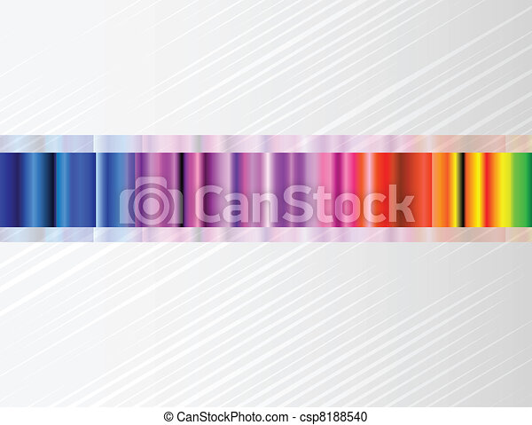 Vector background with color spectrum - csp8188540