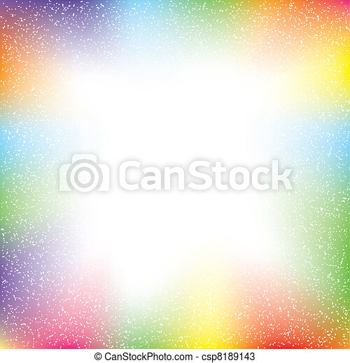 colorful abstract with grunge text - csp8189143