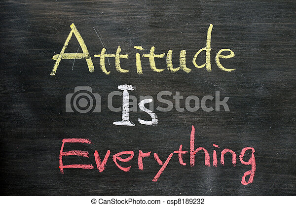 Attitude is everything - csp8189232