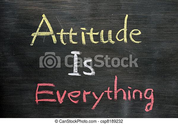 Attitude is everything - csp8189232