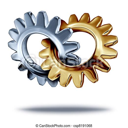 Business Partnership - csp8191068