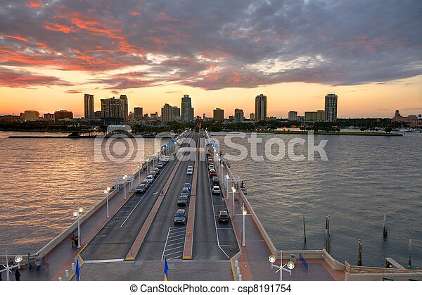 St. Petersburg Florida - csp8191754