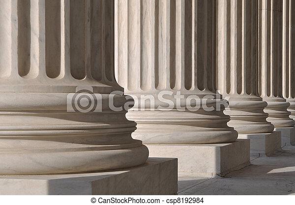 pilares, justiça, lei - csp8192984