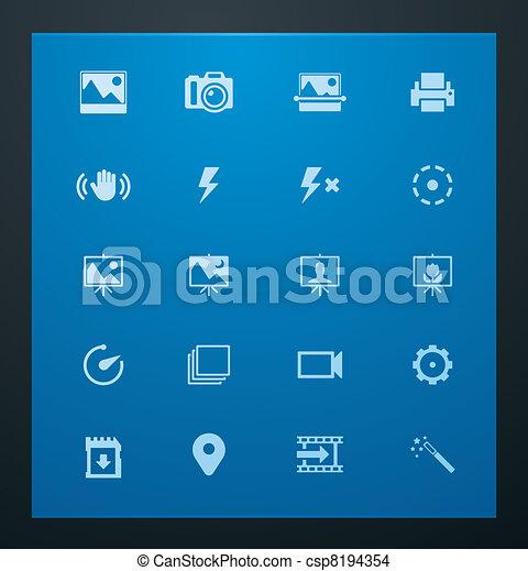 Universal glyphs 2. Photo set - csp8194354