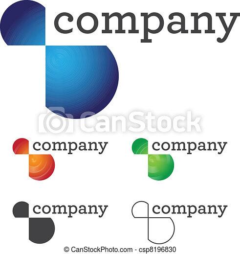 Corporate Logo Design - csp8196830