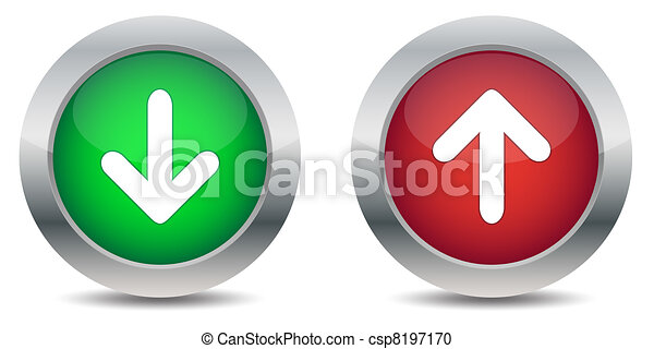 Download and upload buttons - csp8197170
