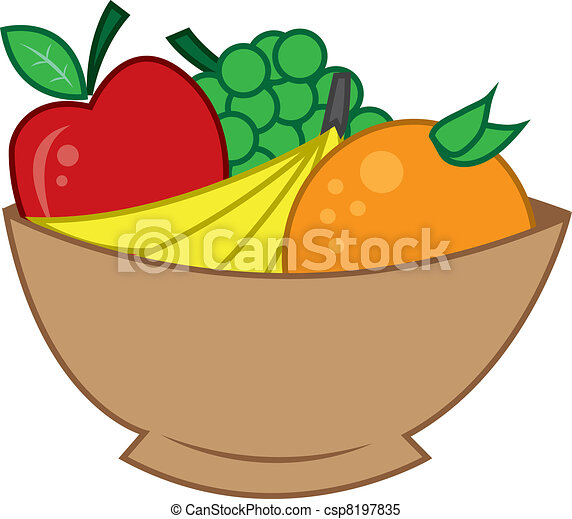 Bowl of Fruit Drawing Bowl of Fruit Wooden Bowl of