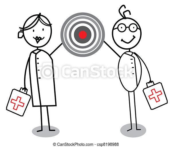 Nurse & Medical Doctor  - csp8198988