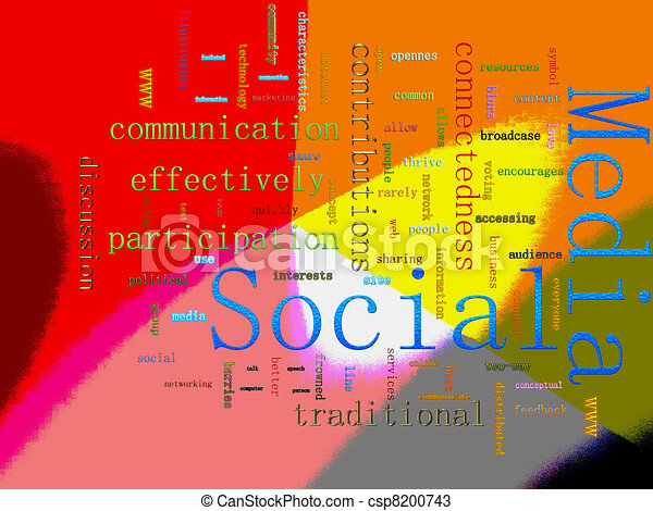Social Media Related Text - csp8200743