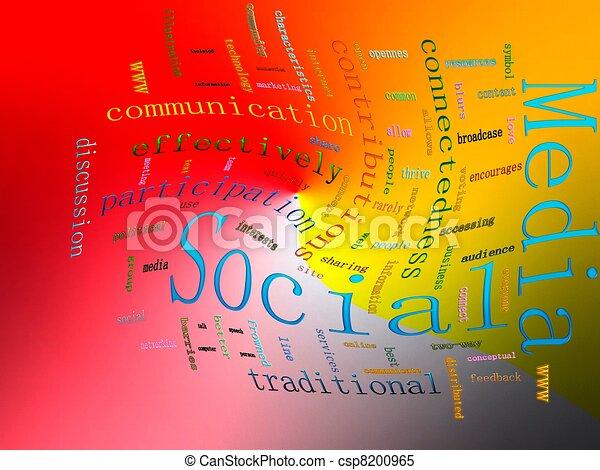 Social Media - csp8200965