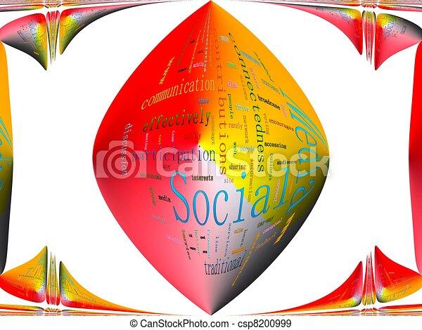 Social Media - csp8200999