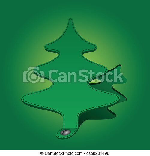 paper fir-tree - csp8201496