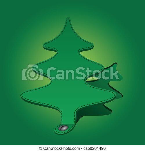 paper fir-tree - csp8201496