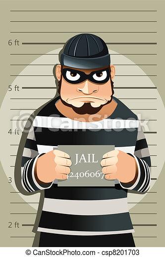 Criminal mug shot - csp8201703