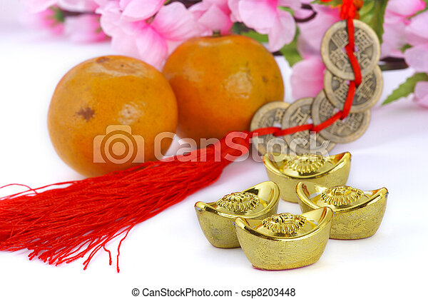 Chinese new year decoration - csp8203448