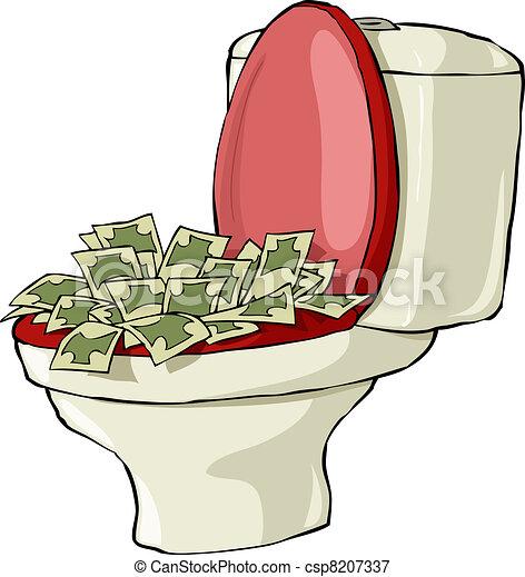 Toilet bowl - csp8207337