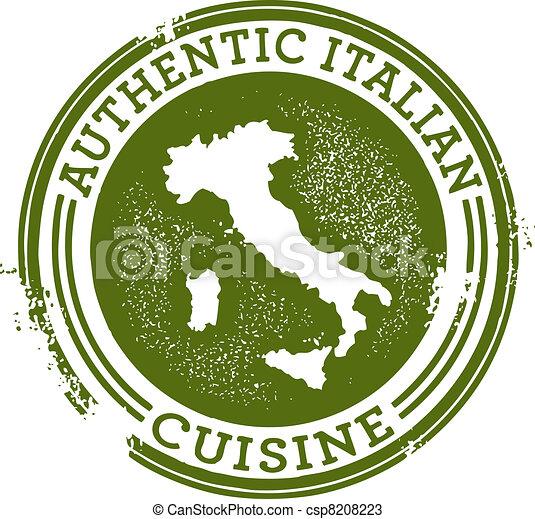 Authentic Italian Food - csp8208223